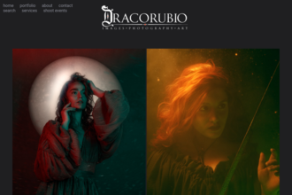 Dracorubio, Photographic Art