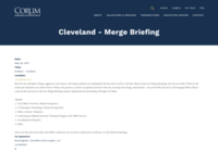 http://www.corumgroup.com/Events/cleveland-merge-briefing-2