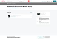 http://www.meetup.com/Boston-HTML5-Game-Development/events/vpftpywpbtb/