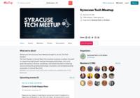 http://www.meetup.com/Syracuse-Tech-Meetup
