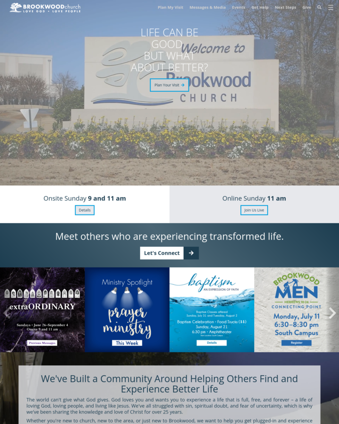 Brookwood Church - brookwoodchurch.org