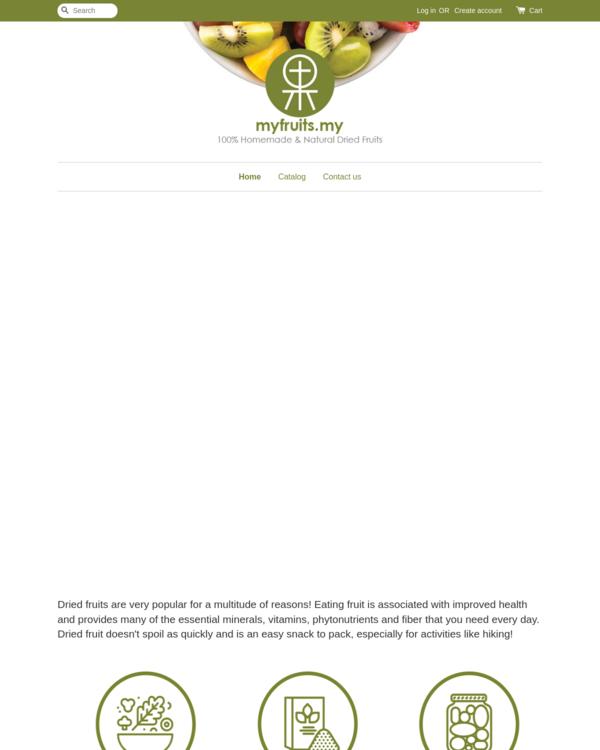EasyStore merchant | myfruits