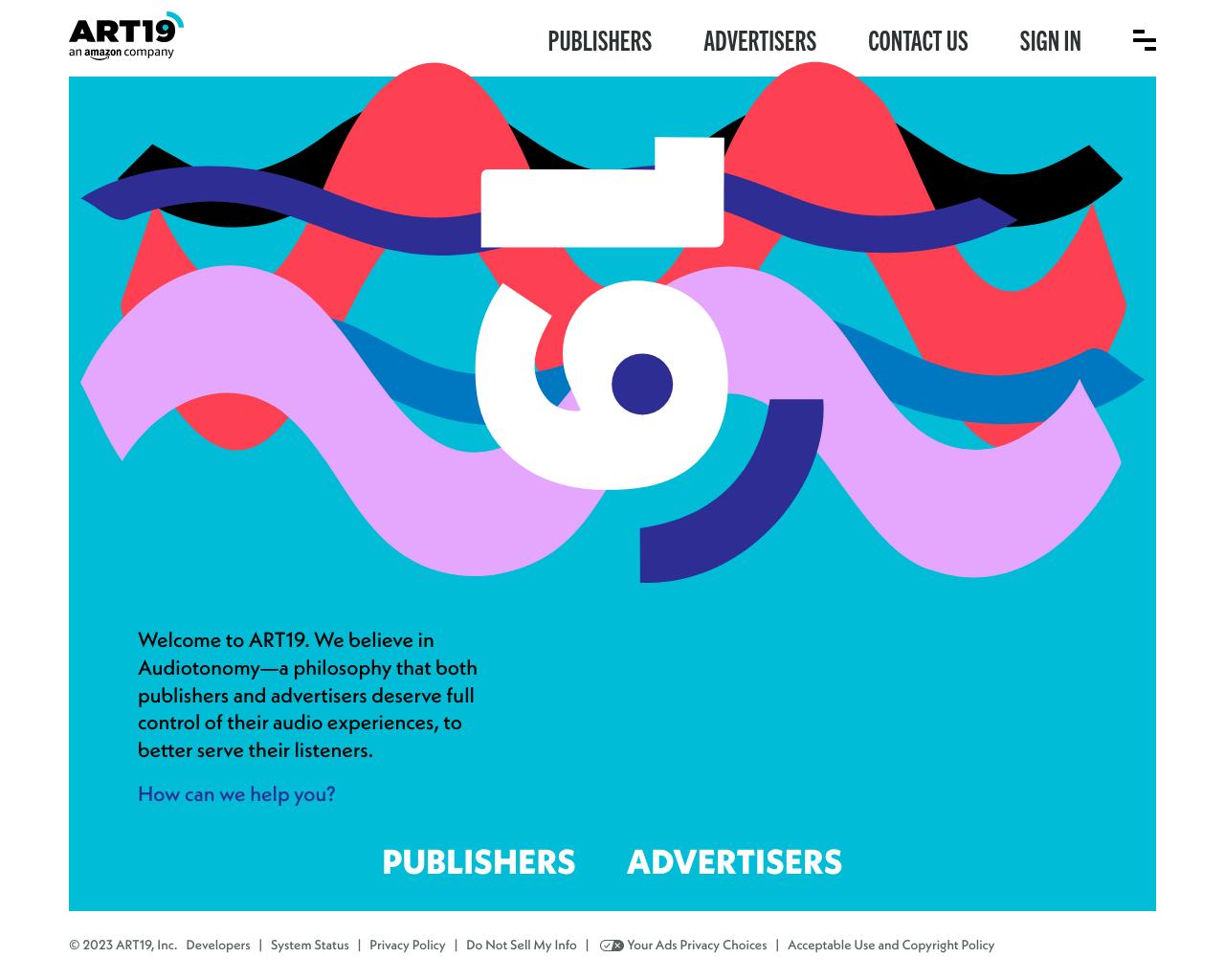 Art19 homepage