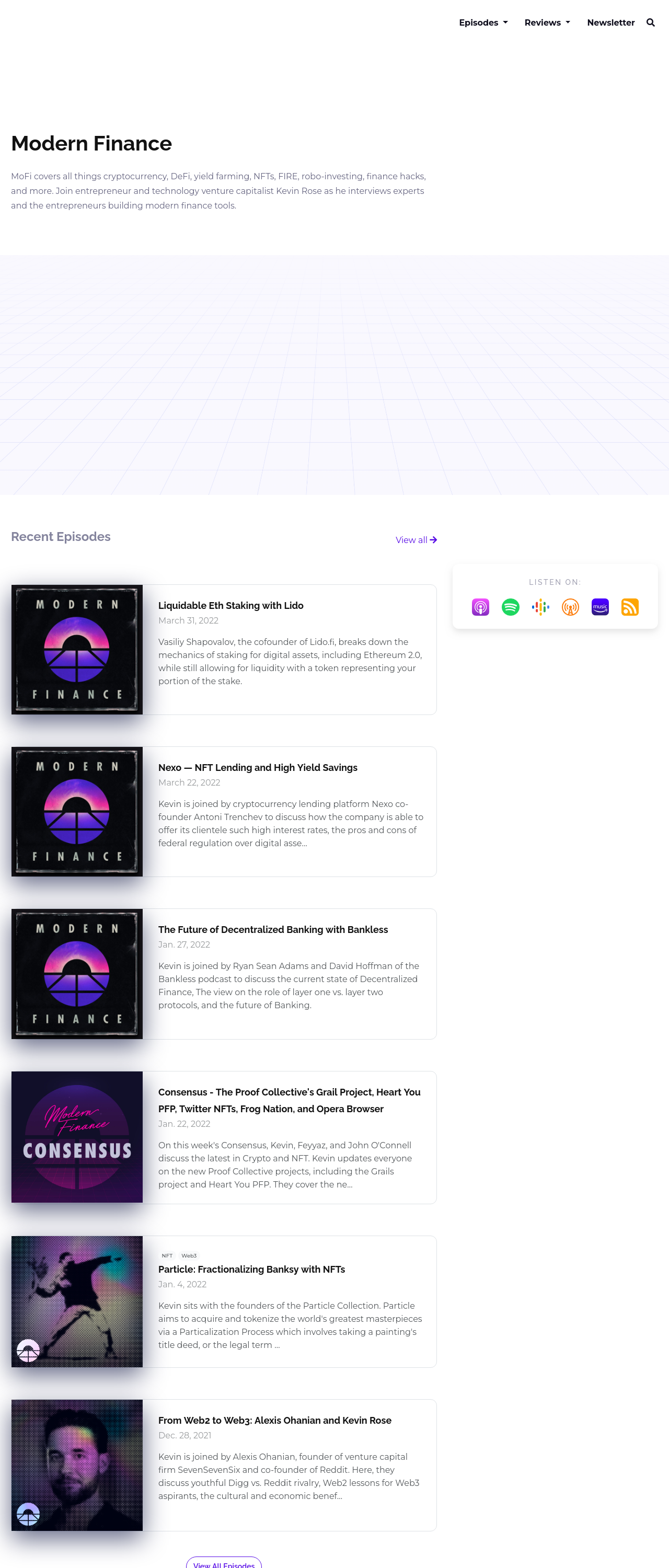 The Ruby podcast website template