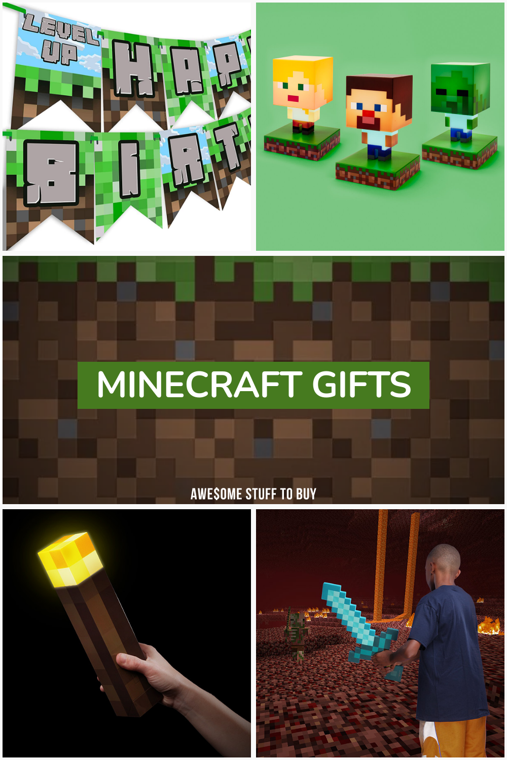 Minecraft Gifts // Awesome Stuff to Buy