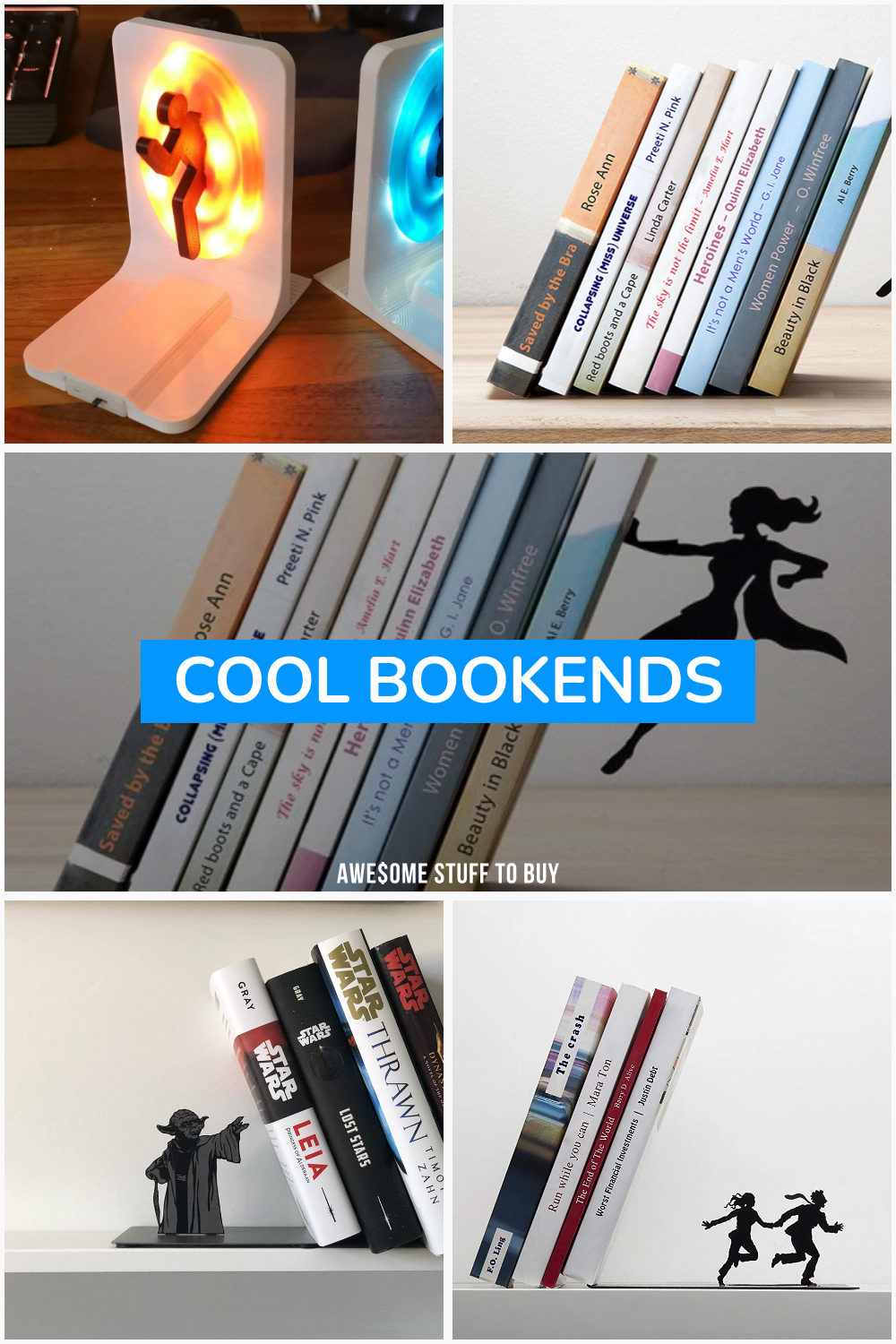 Cool Bookends // Awesome Stuff to Buy