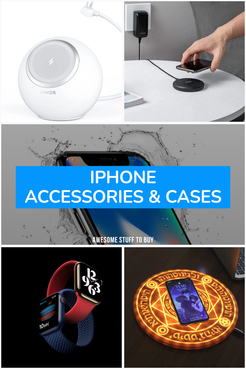 iPhone Accessories & Cases // Awesome Stuff to Buy
