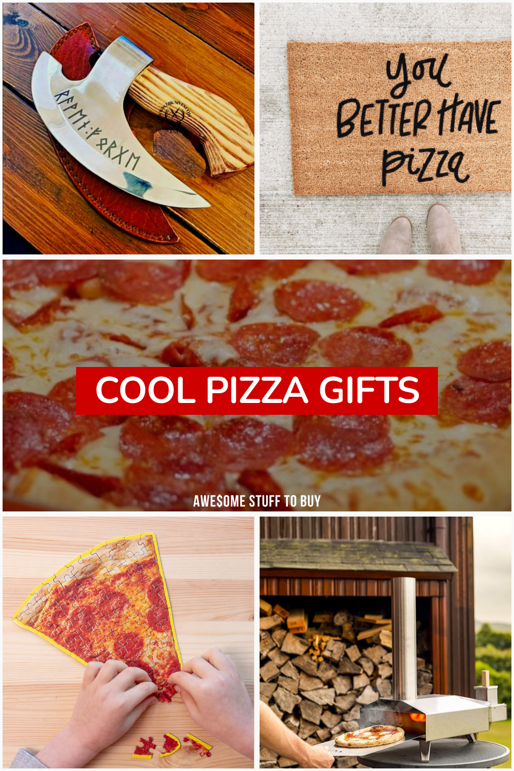 Cool Pizza Gifts // Awesome Stuff to Buy