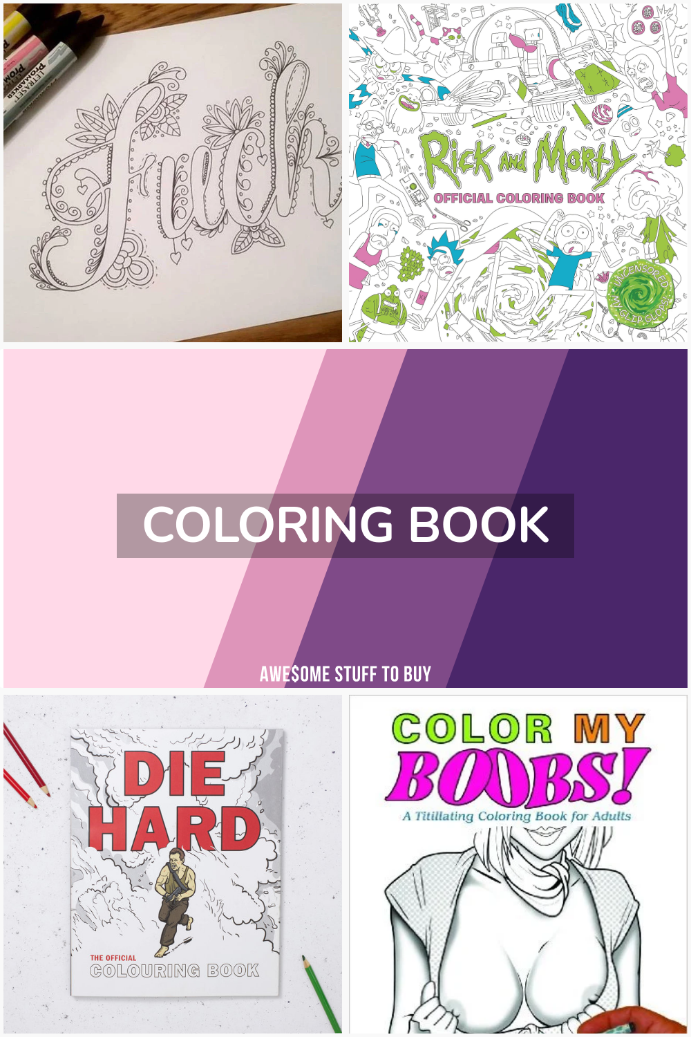 Coloring Book // Awesome Stuff to Buy