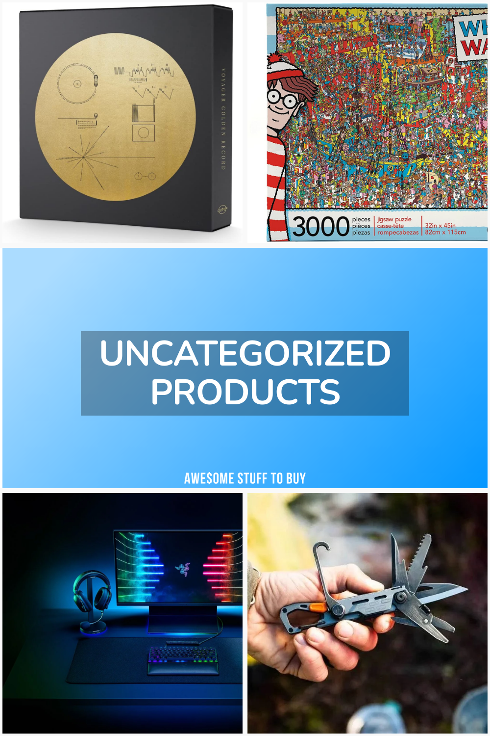 Uncategorized Products // Awesome Stuff to Buy