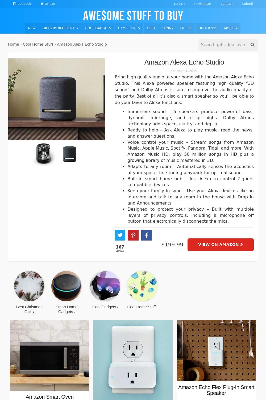 Alexa // Awesome Stuff to Buy