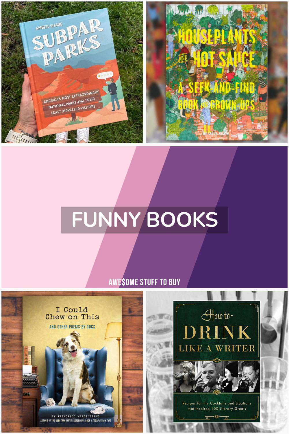 Funny Books // Awesome Stuff to Buy
