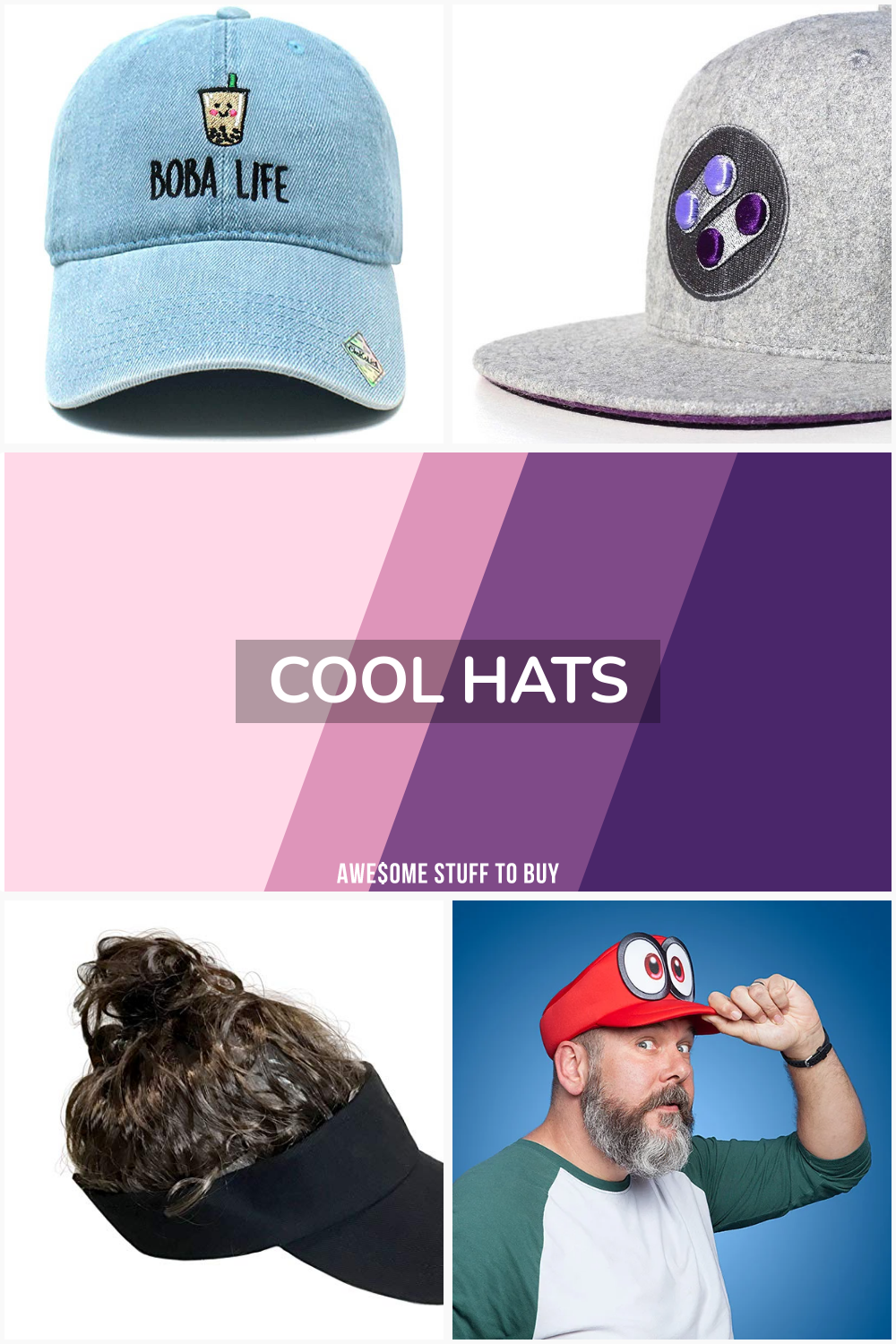Cool Hats // Awesome Stuff to Buy