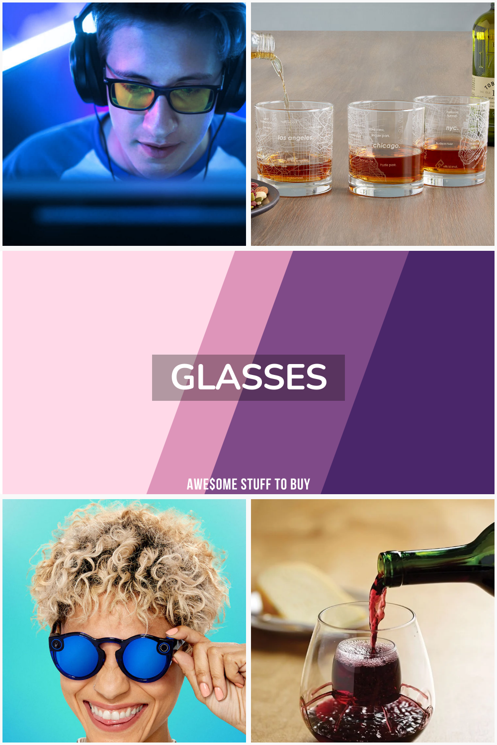 glasses // Awesome Stuff to Buy