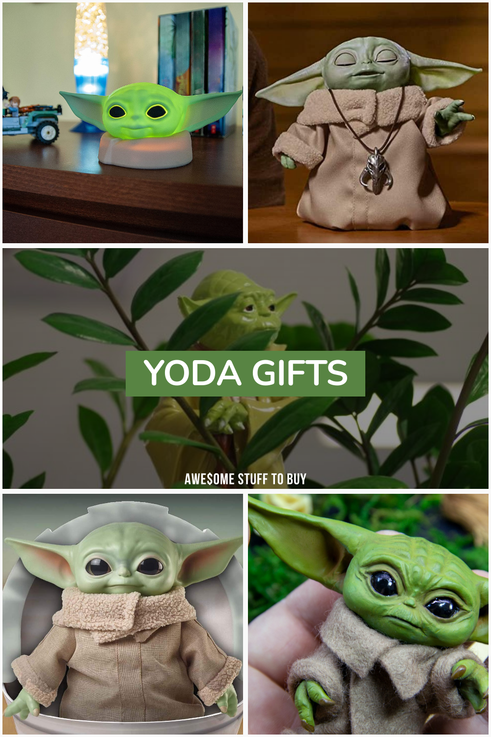 Yoda Gifts // Awesome Stuff to Buy