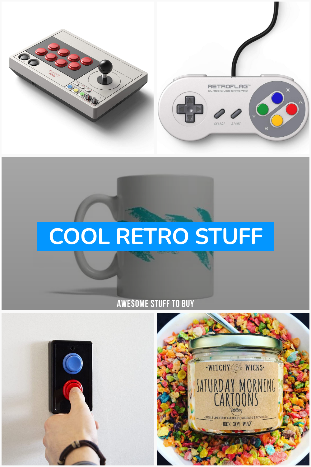 Cool Retro Stuff // Awesome Stuff to Buy