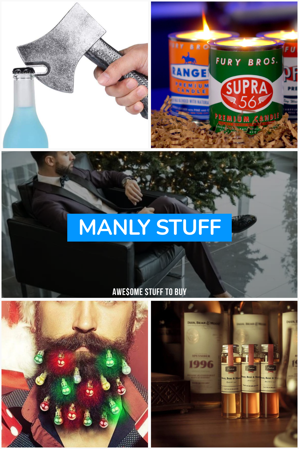 Manly Stuff // Awesome Stuff to Buy