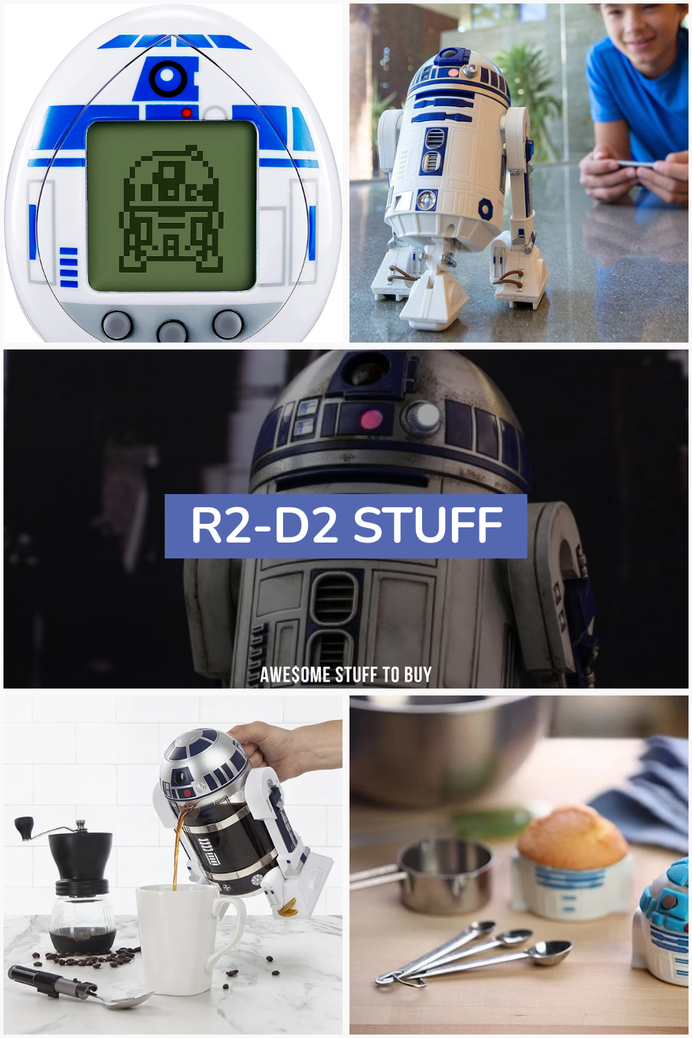 R2-D2 Stuff // Awesome Stuff to Buy