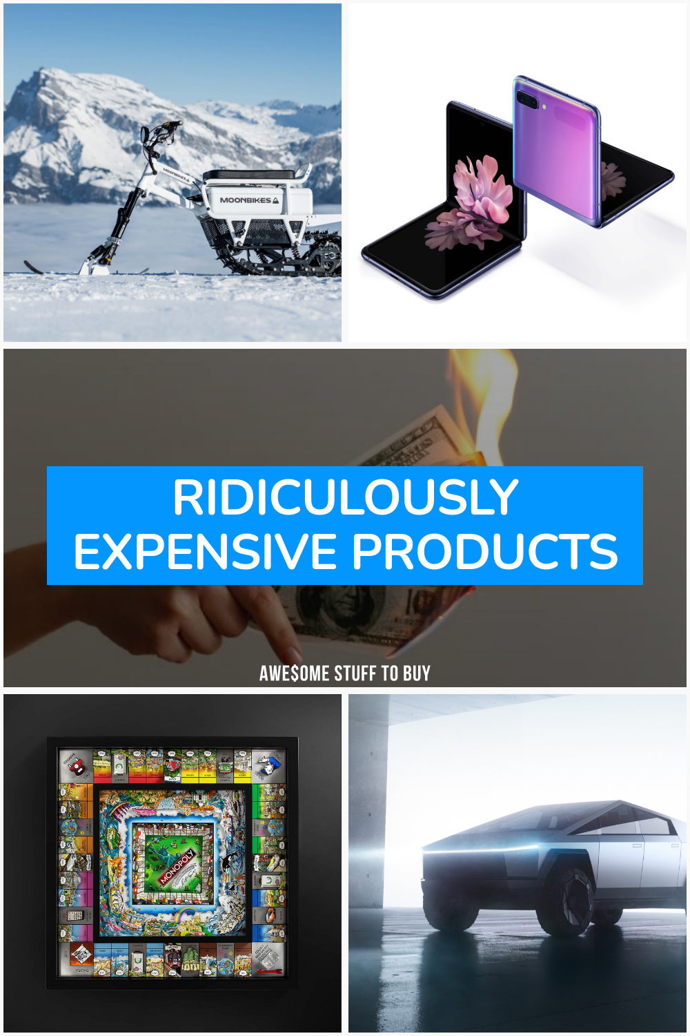 Ridiculously Expensive Products // Awesome Stuff to Buy
