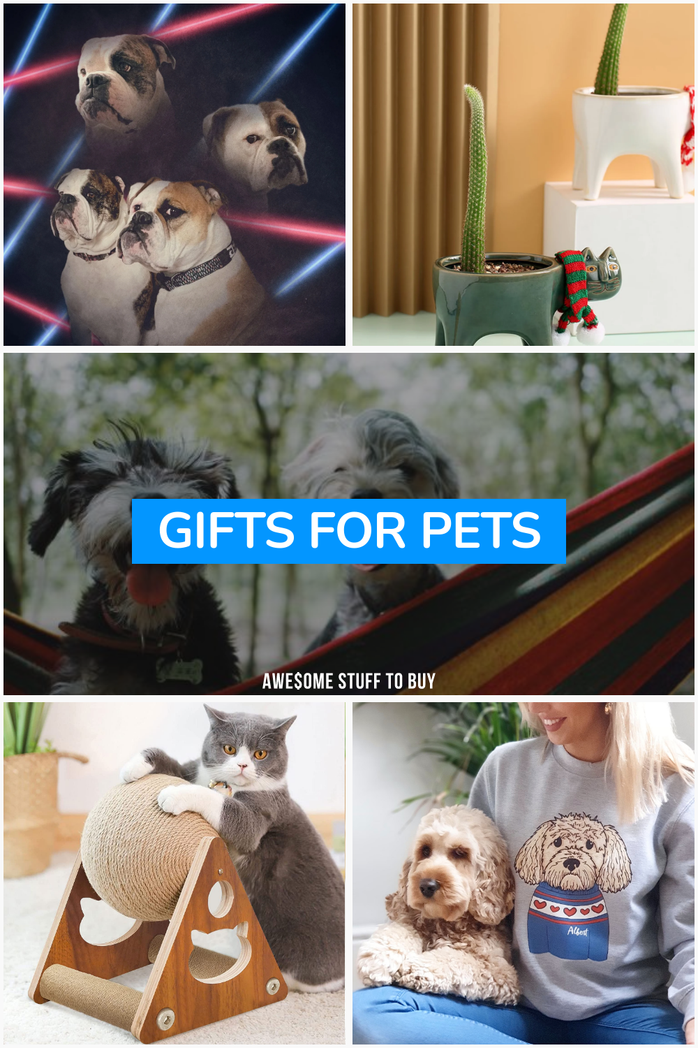 Gifts for Pets // Awesome Stuff to Buy