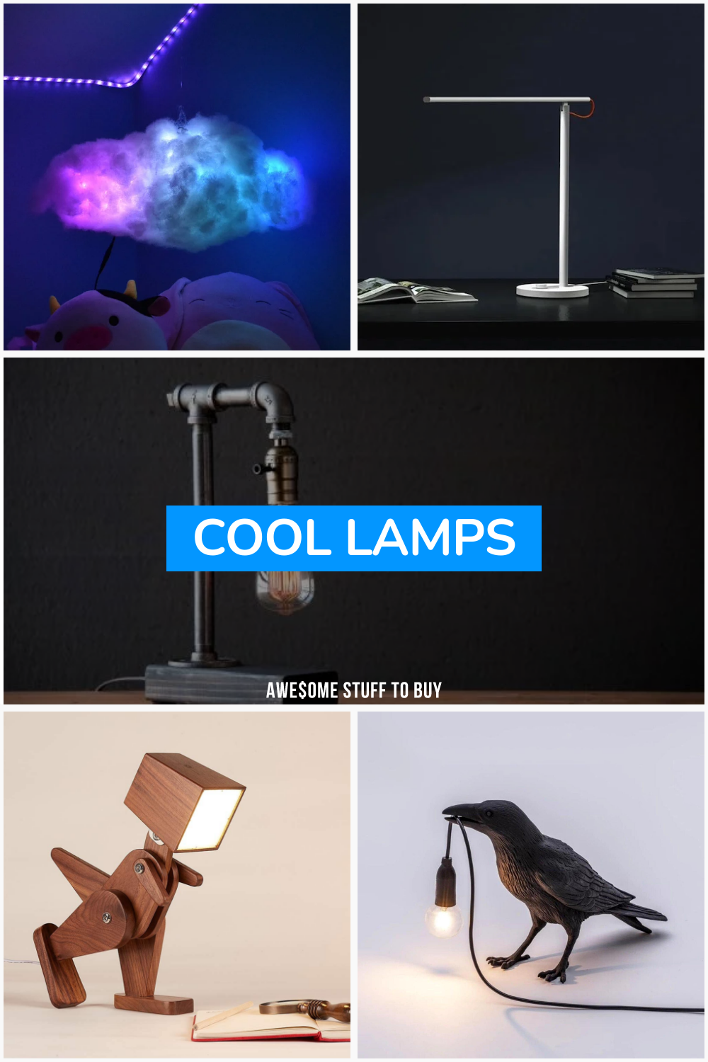 Cool Lamps // Awesome Stuff to Buy