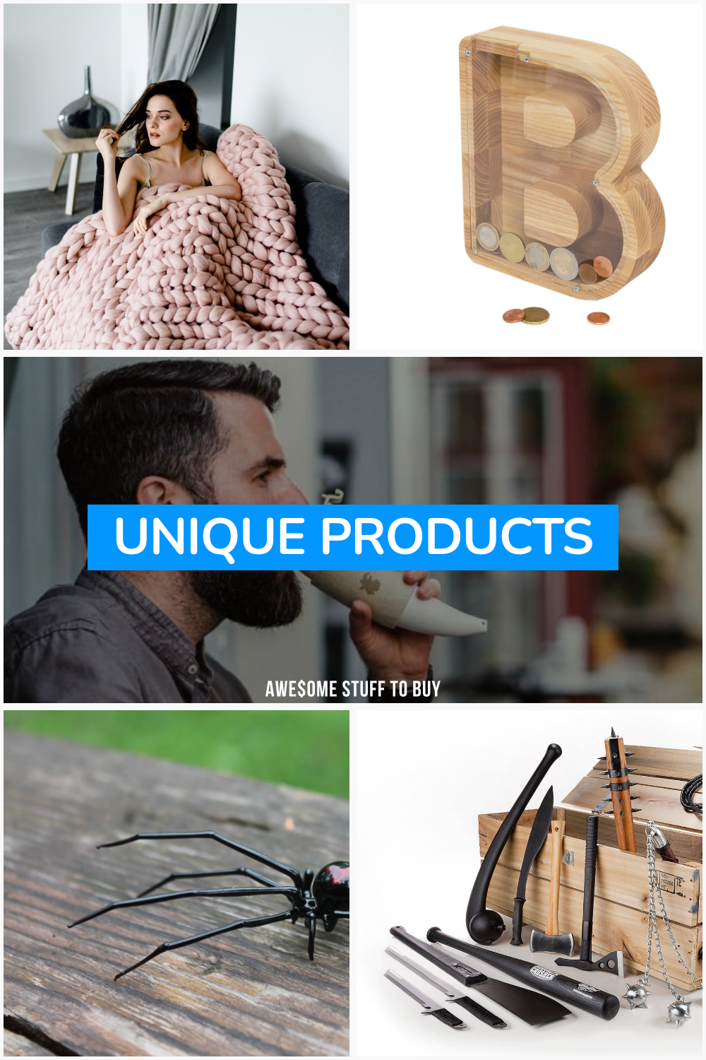Unique Products // Awesome Stuff to Buy