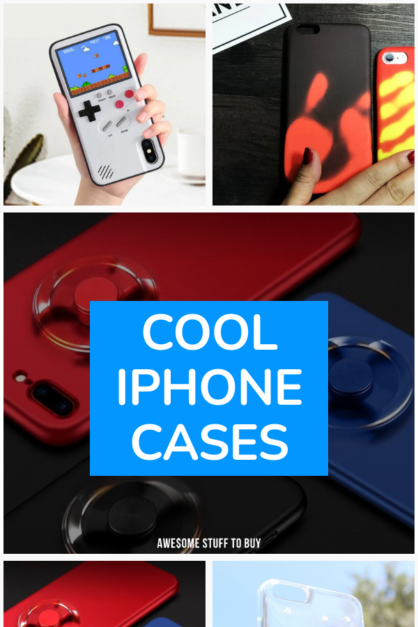 Cool iPhone Cases // Awesome Stuff to Buy