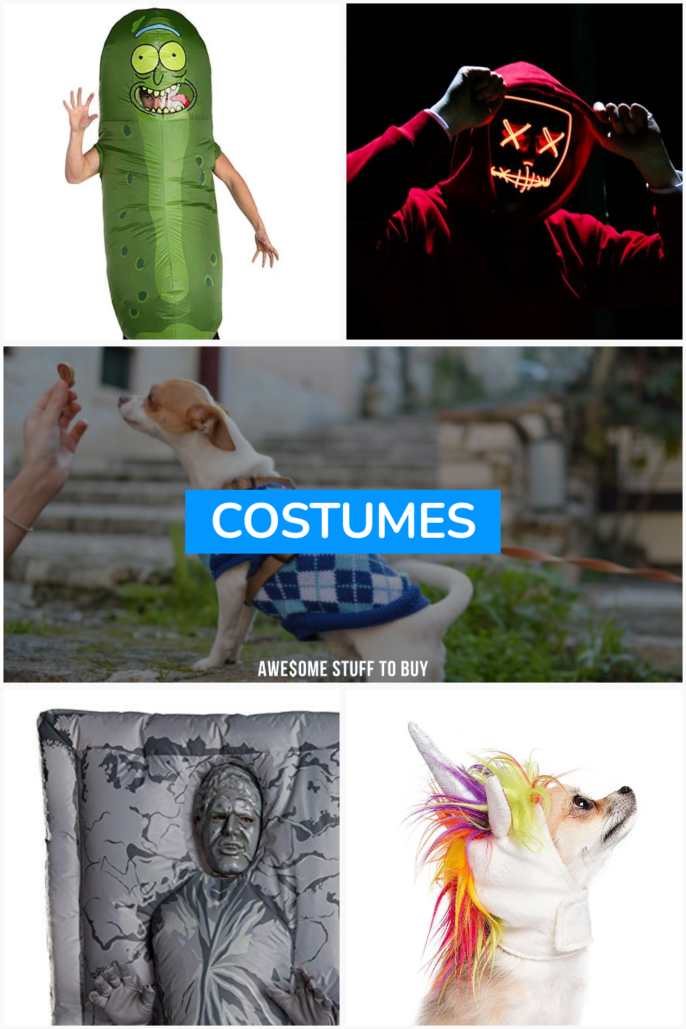 Costumes // Awesome Stuff to Buy