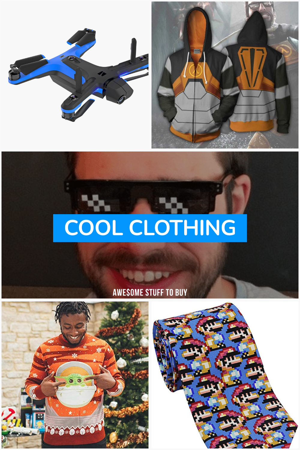 Cool Clothing // Awesome Stuff to Buy