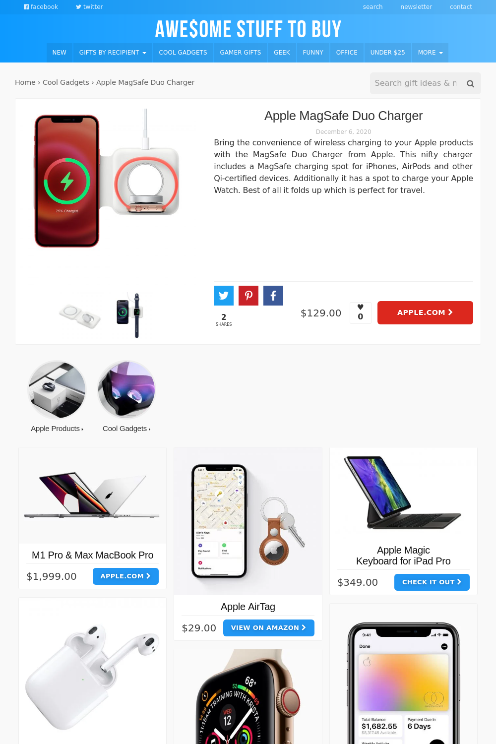 Charger // Awesome Stuff to Buy