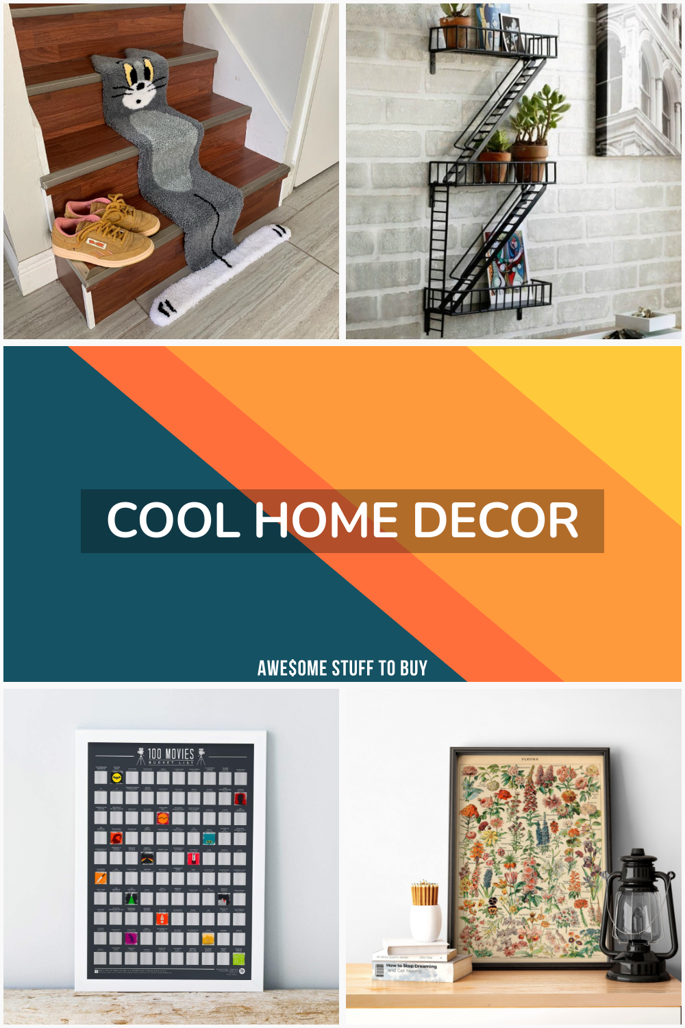 Cool Home Decor // Awesome Stuff to Buy