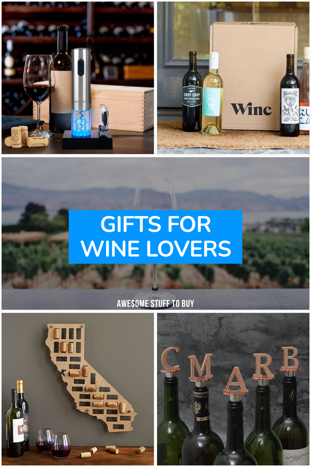 Gifts for Wine Lovers // Awesome Stuff to Buy