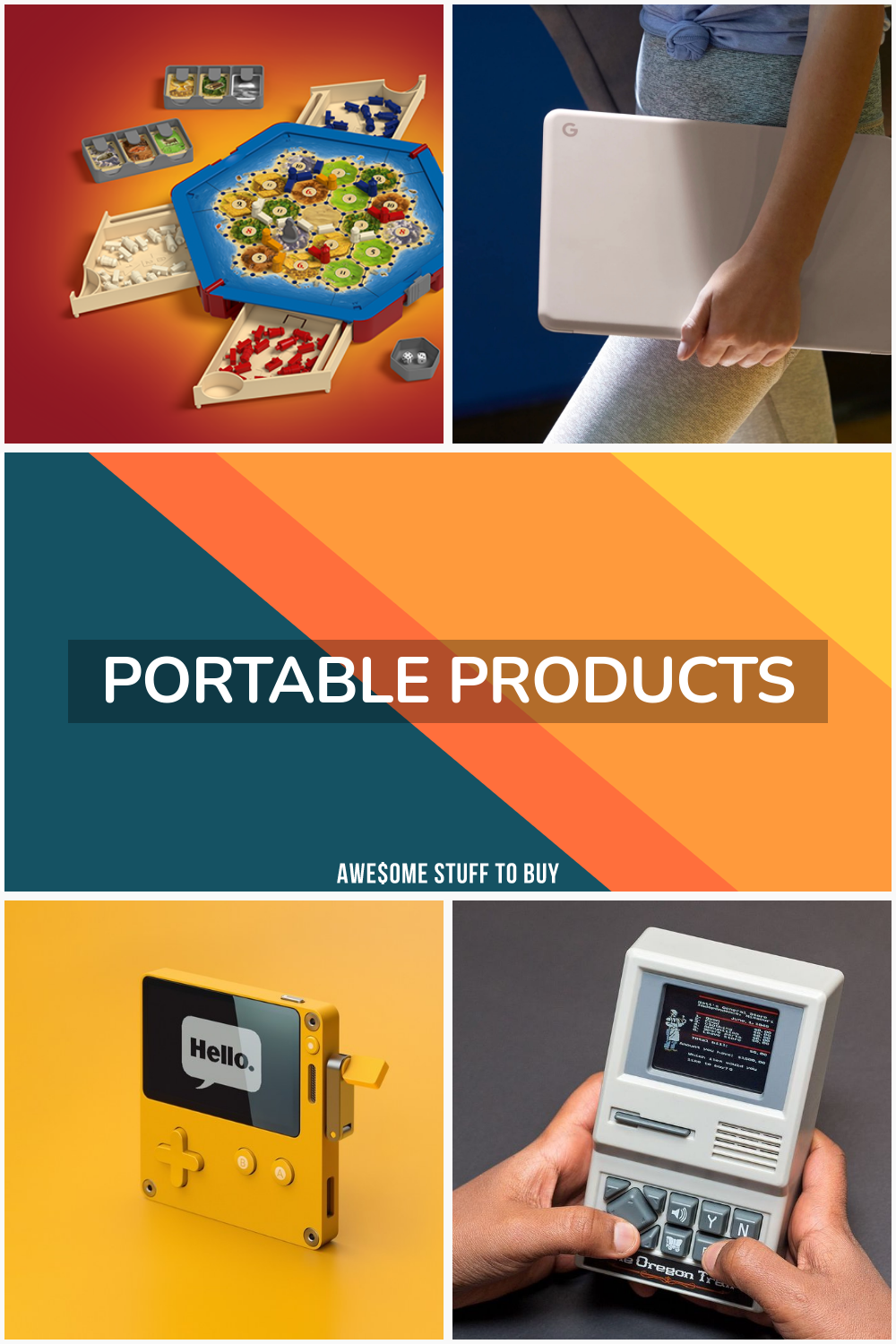 Portable Products // Awesome Stuff to Buy