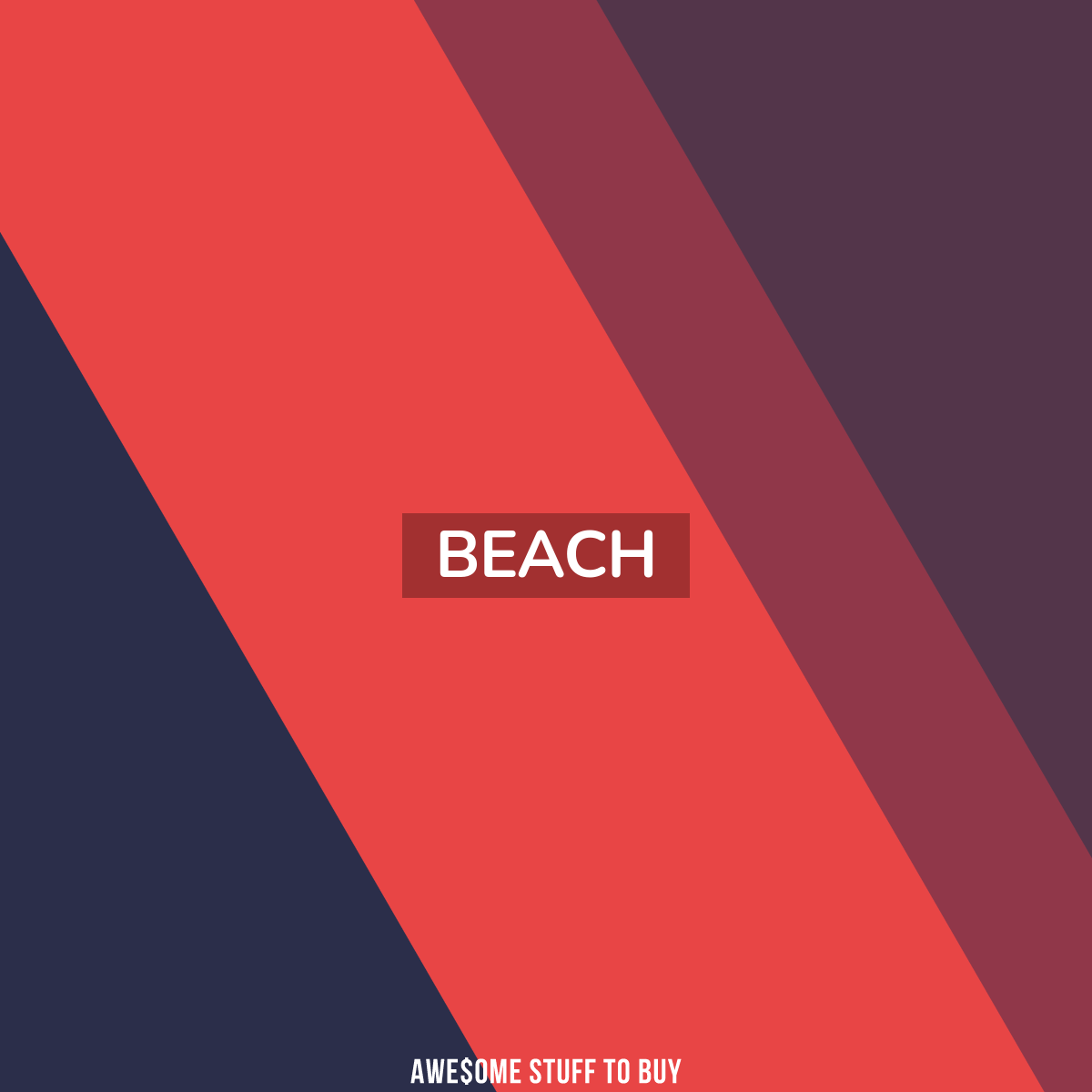 beach // Awesome Stuff to Buy