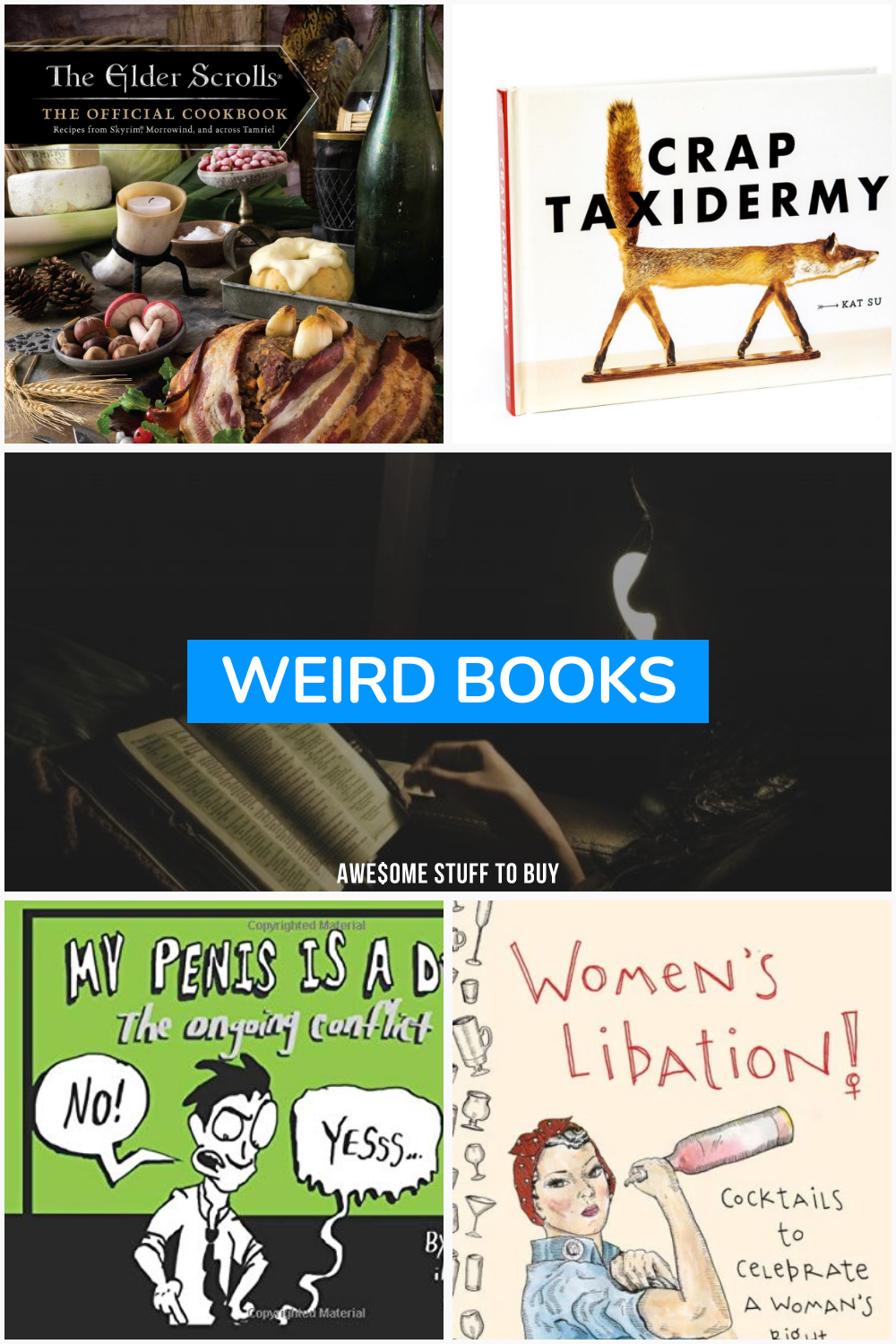 Weird Books // Awesome Stuff to Buy