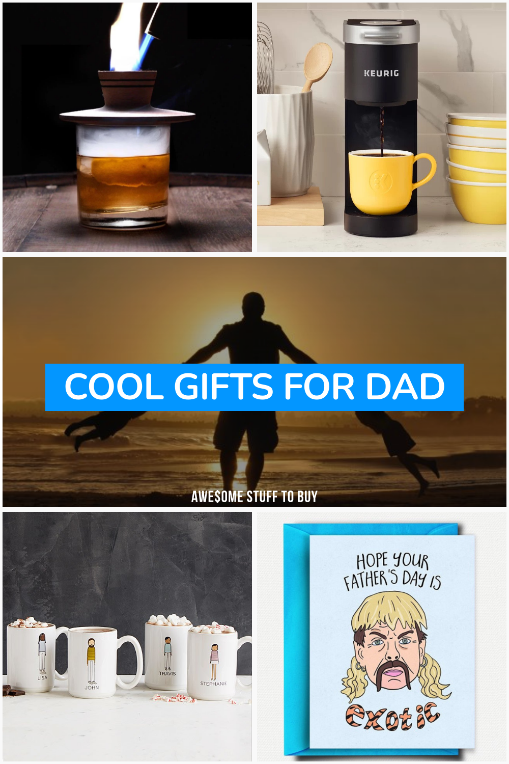 Cool Gifts for Dad // Awesome Stuff to Buy