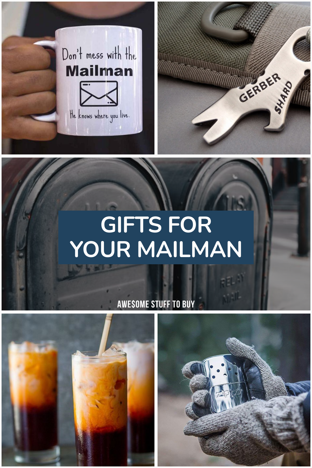 Mailman Gifts // Awesome Stuff to Buy