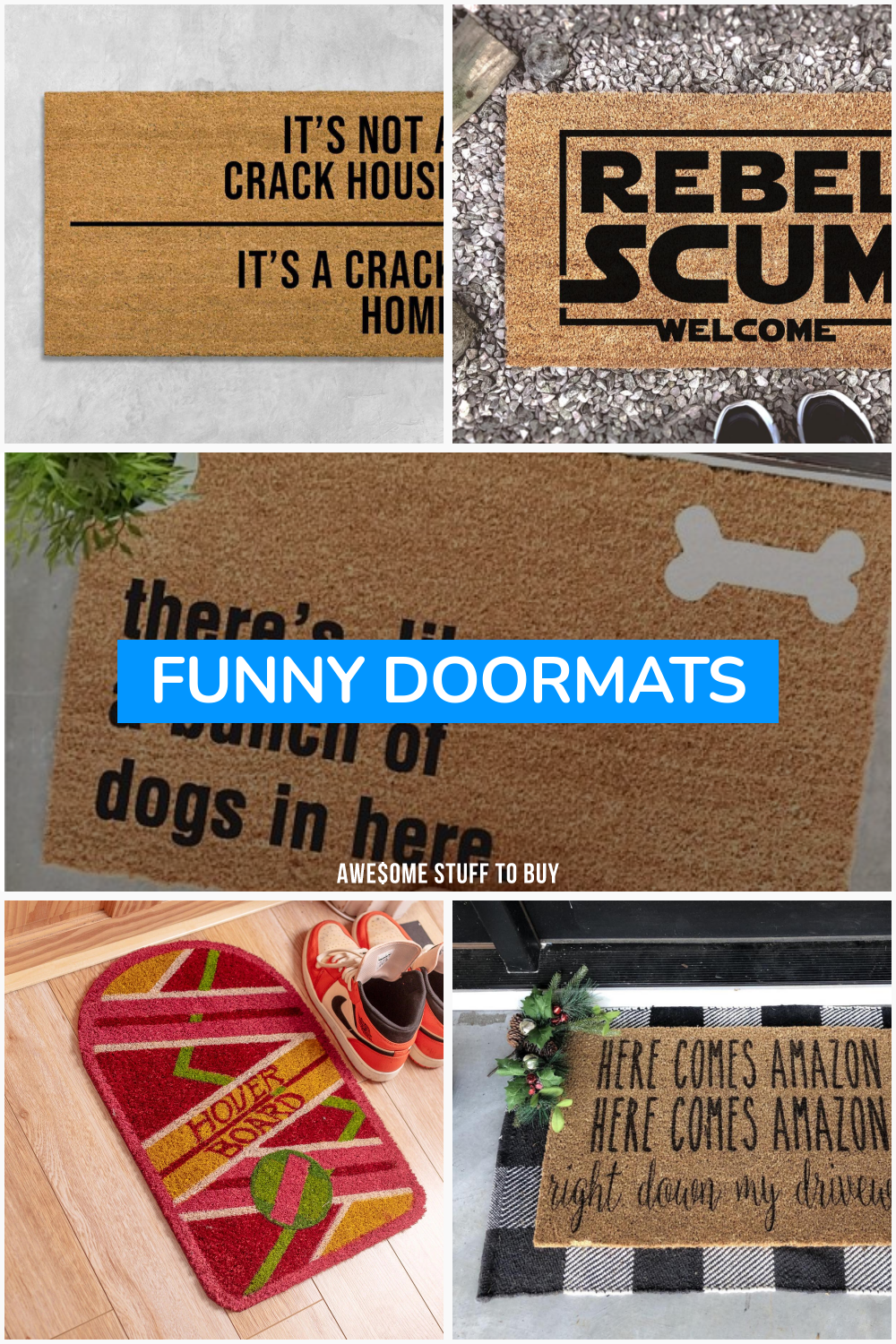 Funny Doormats // Awesome Stuff to Buy