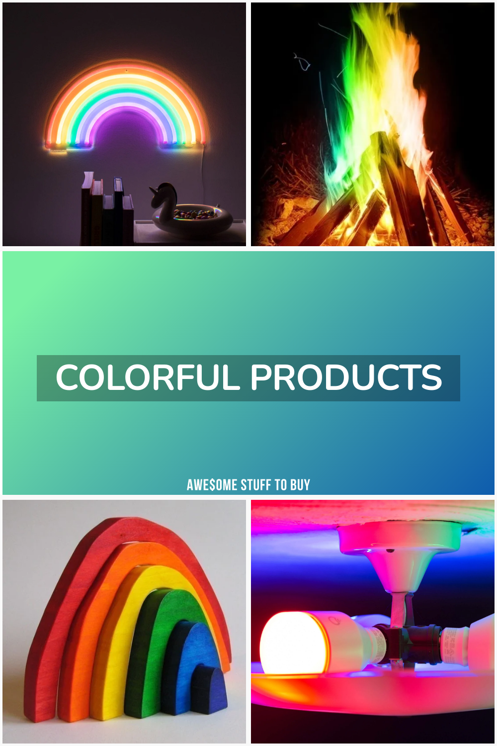 Colorful Products // Awesome Stuff to Buy