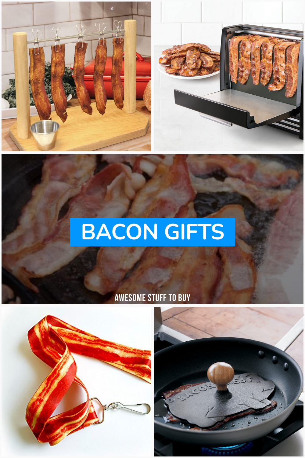 Bacon Gifts // Awesome Stuff to Buy