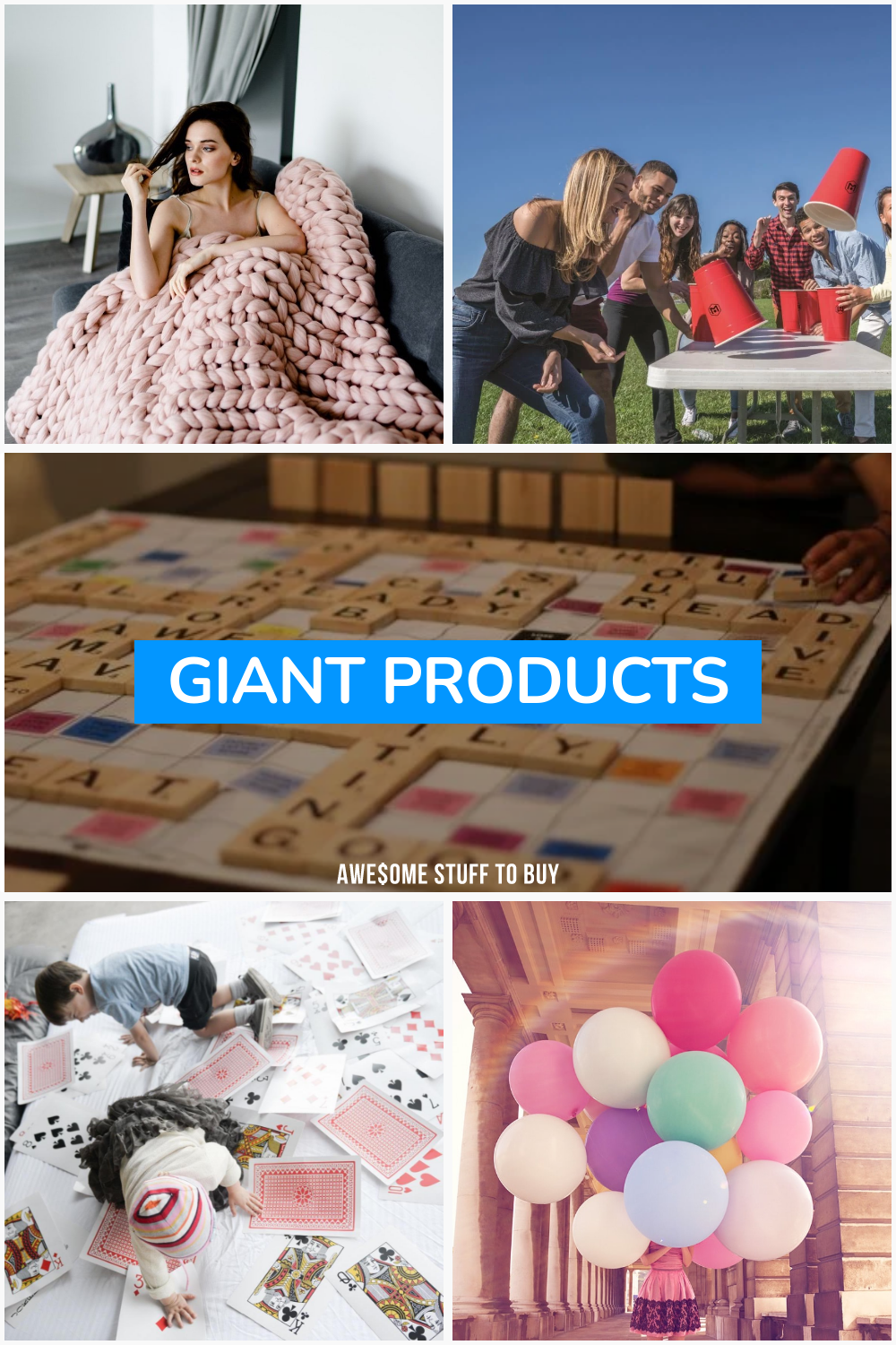 Giant Products // Awesome Stuff to Buy