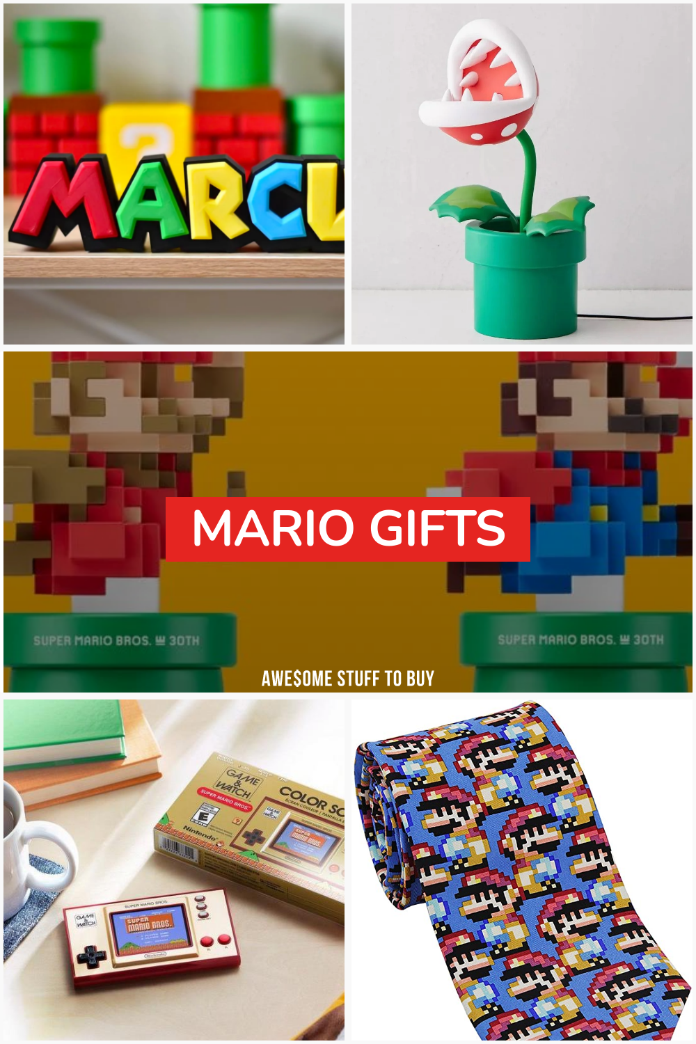 Mario Gifts // Awesome Stuff to Buy
