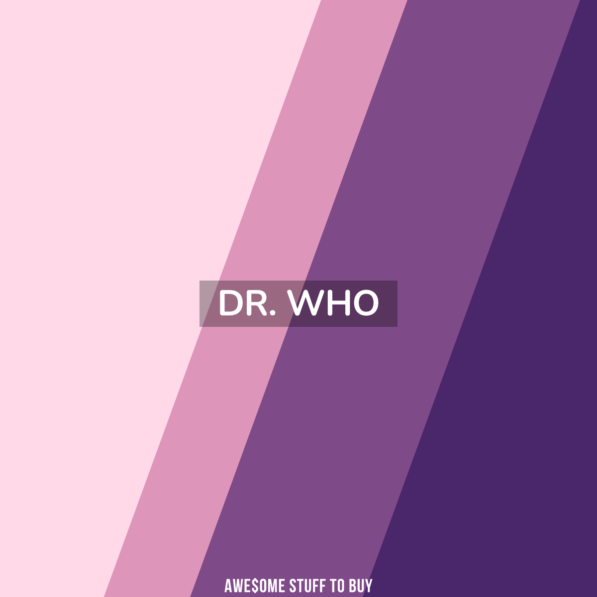Dr. Who // Awesome Stuff to Buy