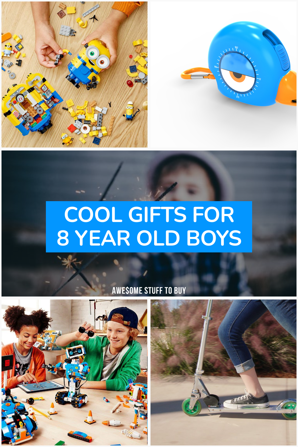 Cool Gifts for 8 Year Old Boys // Awesome Stuff to Buy