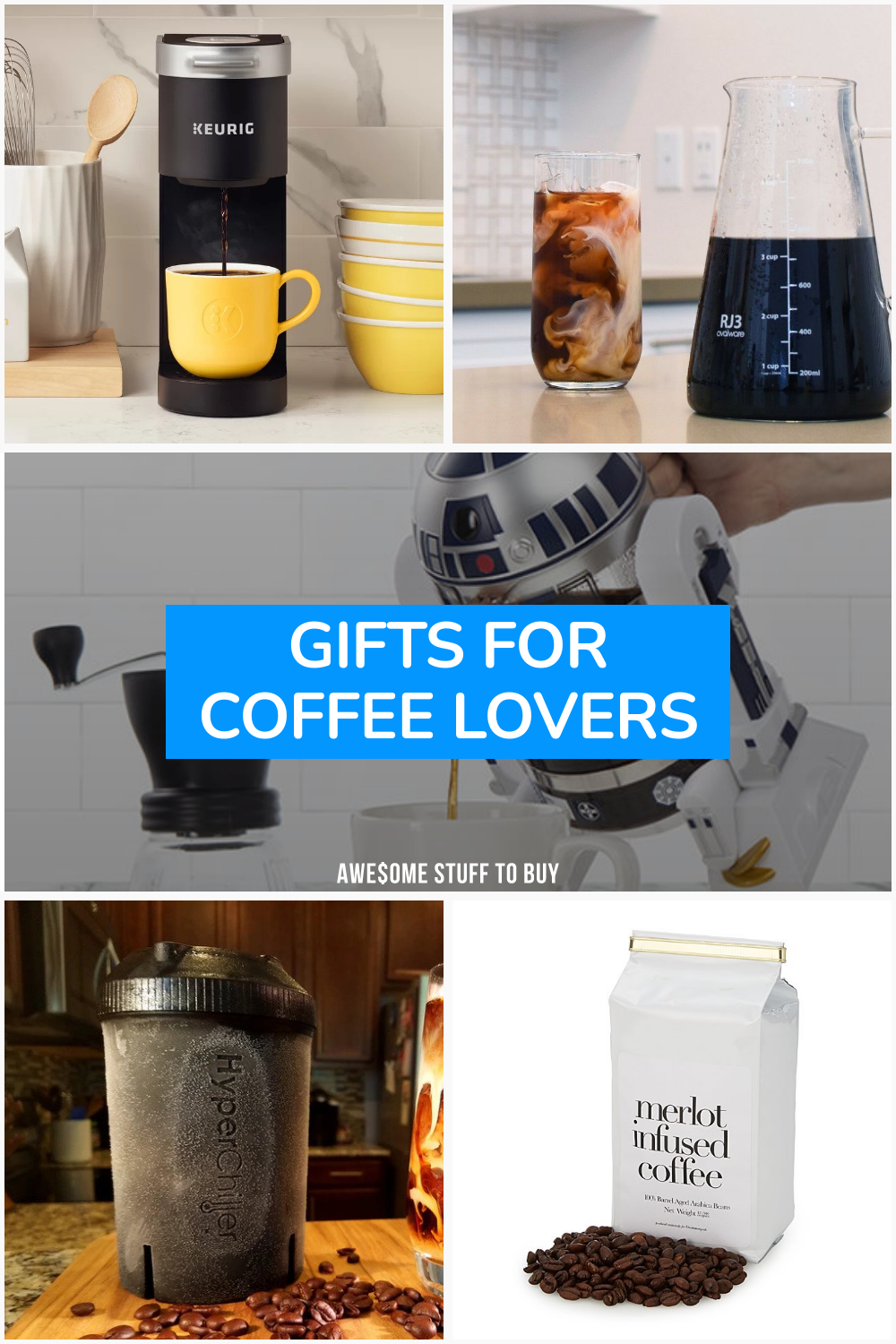 Gifts for Coffee Lovers // Awesome Stuff to Buy