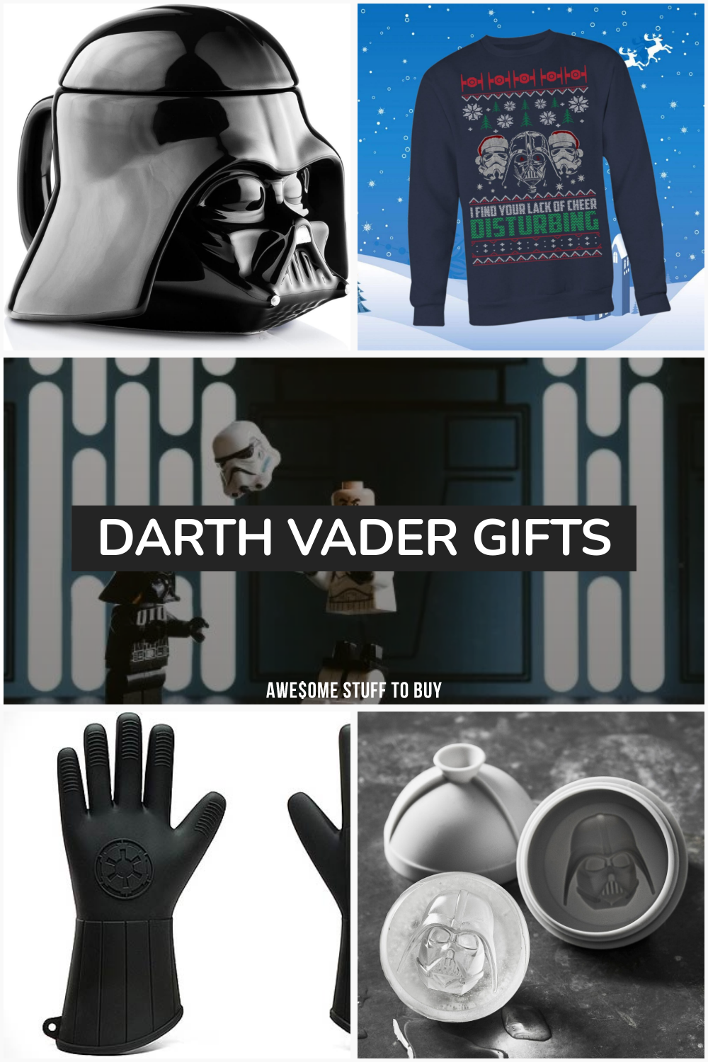 Darth Vader Gifts // Awesome Stuff to Buy