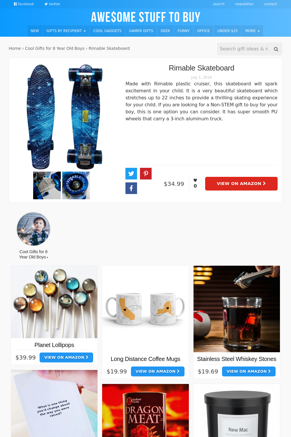 Skateboard // Awesome Stuff to Buy