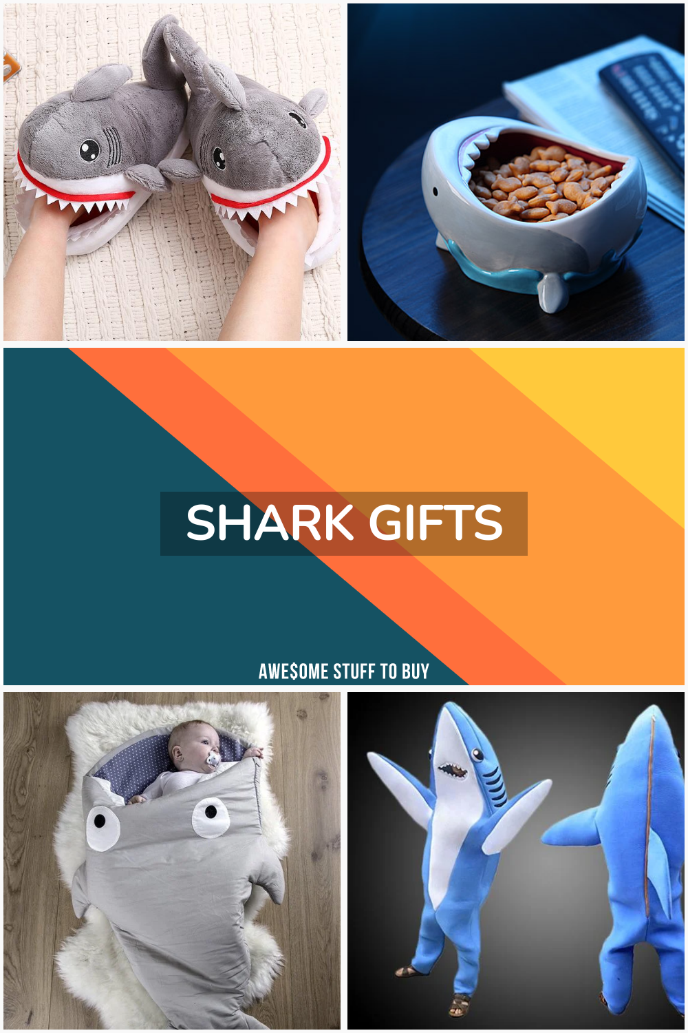 Shark Gifts // Awesome Stuff to Buy