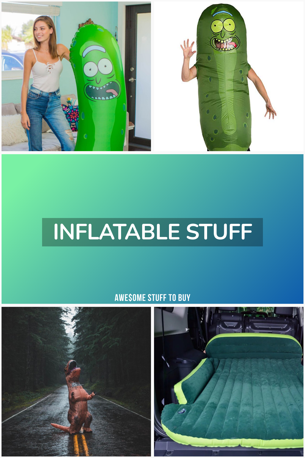 Inflatable Stuff // Awesome Stuff to Buy