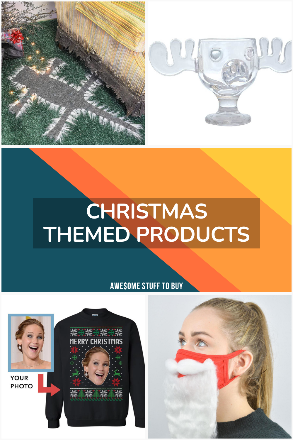 Christmas Themed Products // Awesome Stuff to Buy